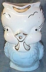 Click here to enlarge image and see more about item emb-11: Shawnee Little Blue Chick Cream/Milk Pitcher