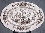 Click to view larger image of J & G Meakin Platter India (Image1)