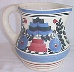 Click here to enlarge image and see more about item est-7: Vintage Persian Ware Pitcher Made in Germany