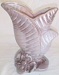 Click here to enlarge image and see more about item est-8: Vintage Gonder Vase # H 67 Flower & Ferns