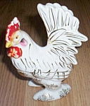 Antique Rooster Figurine