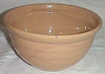 Click here to enlarge image and see more about item fl-22: Medium Stoneware Mixing Bowl Marked USA
