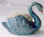 Cast Metal Swan Pin Cushion Free Shipping