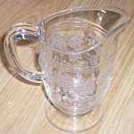 Sandwich Glass Creamer Gooseberry