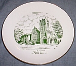 Click here to enlarge image and see more about item gw-119: 1955 Commemorative Plate Temple Baptist Church Rockford IL