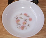 Click here to enlarge image and see more about item gw-150: Fire King Fleurette Soup Bowl