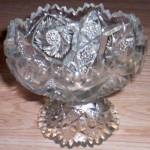 Imperial Whirling Star Pedestal Bowl