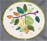 Click here to enlarge image and see more about item gw-90: Blue Ridge Salad Plate Honolulu-Pears