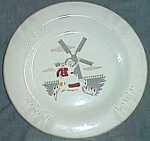 "The 'Sabina"" Line Ashtray with Dutch Couple Transfer"