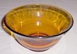 Vintage Amber Nut Bowl