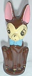 Amusing Vintage Chihuahua Pencil/Pen Holder Pottery