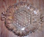 Click here to enlarge image and see more about item ole-1020: Dime Store Depression Glass Relish