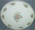 Click here to enlarge image and see more about item ole-102: Oriental Majolica 12� Cake Plate