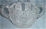 Antique Hotel Sugar Bowl Daisy Button Panels