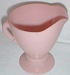 Click here to enlarge image and see more about item ole-171: Hazel Atlas Ovide Creamer Pink