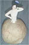 Click here to enlarge image and see more about item ole-34: German Pincushion Doll Arms Away Spanish Dancer