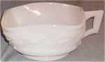 Fostoria Wistar Betsy Ross Milk Glass Nappy