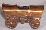Click here to enlarge image and see more about item ole-573: Cast Metal Miniature Western Wagon