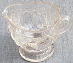Click here to enlarge image and see more about item ole-602: Westmoreland Della Robbia Crystal Creamer