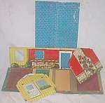 Click to view larger image of Vintage Wolverine Tin Pressed Ranch House (Image1)