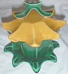 Click to view larger image of Unique 3 PC Jam Pot Flower Shaped Gilner? (Image1)