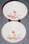 3 Cronin China Plates Zephyr Sweet Pea
