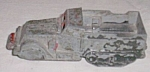 Click here to enlarge image and see more about item ole-668: Die Cast Midge Toy Armored Personal Carrier 6X6