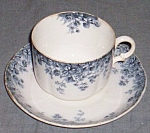 Alfred Meakin Cup & Saucer Grange 1891-1897