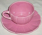 Pink Petal Large Cup and Saucer