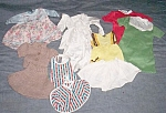 Lot Vintage Doll Clothes Small Doll 60's