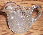 Indiana Glass Oval Star Creamer