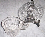 Click to view larger image of Heisy Bread & Butter Plate Cup Free Shipping (Image1)