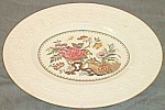 Click here to enlarge image and see more about item out31205-4: Wedgwood Platter Wellesley Bullfinch Pattern ca 1934 Free Shipping