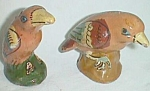 Old Clay Bird Salt & Pepper Set Mexico