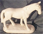 Little Horse Figurine Marked Luther