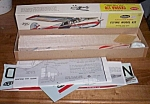 Click here to enlarge image and see more about item rum-170: Vintage Guillow's Balsa Wood Model Cessna 170