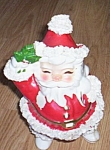 Click to view larger image of Vintage Napco Santa Figural Planter (Image1)