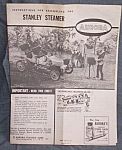 Click here to enlarge image and see more about item rum-250: Instruction for Aurora Model Stanley Steamer