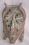 Antique Camille Naudot & Co Wall Mask