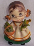 Click to view larger image of Josef Originals Wee Folks Garden Girl (Image1)