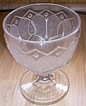 Click to view larger image of Loop & Dart w/ Diamond Ornaments Goblet (Image1)