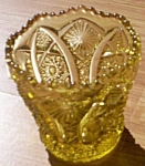 Click here to enlarge image and see more about item rum-353: Imperial Octagon Toothpick  Yellow