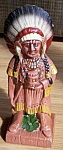 Click here to enlarge image and see more about item rum-355: Vintage Still Bank Indian Chief