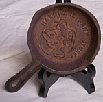 Click here to enlarge image and see more about item rum-395: Hardware Hank Cast Iron Pan Ashtray