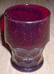 Viking Georgian Flat Tumbler 9 oz Ruby
