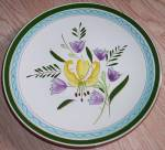 Click here to enlarge image and see more about item rum-622: Stangl Pottery Salad Plate Country Garden