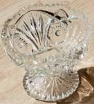 Click here to enlarge image and see more about item rum-883: Imperial Diamond and Fan #212 Compote