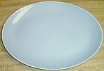 Click to view larger image of Vintage Platter Rhythm Homer Laughlin Gray (Image1)