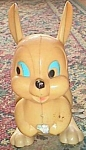 Vintage Wind Up Hopping Easter Bunny Toy