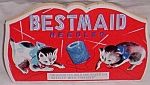 Vintage Needle Book Bestmaid Needles Kittens